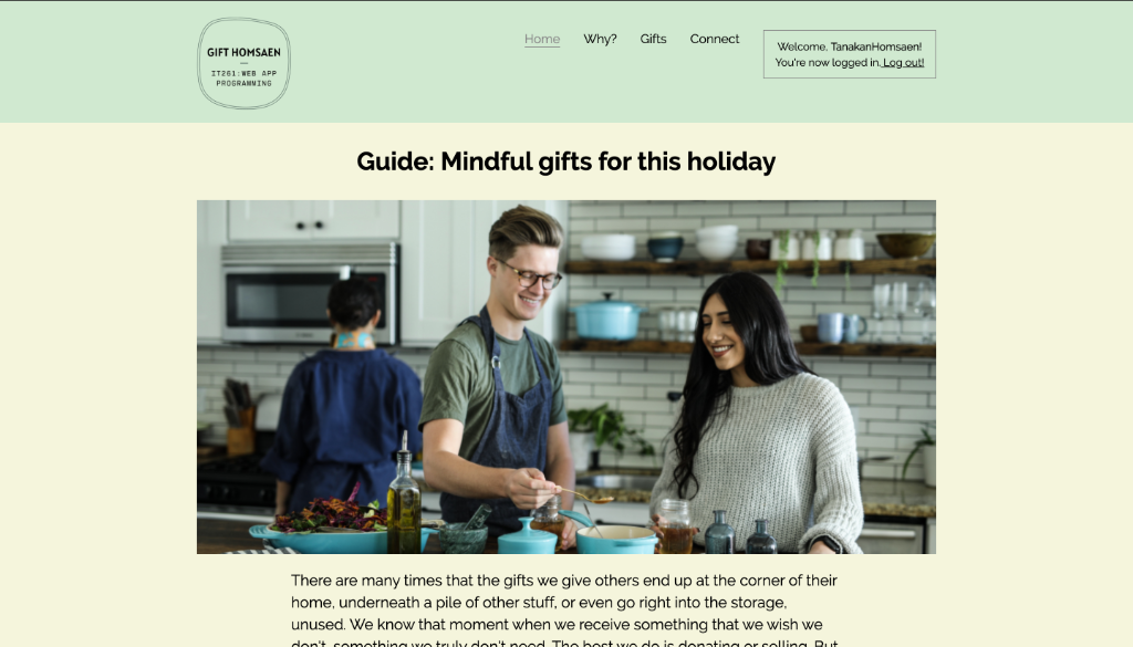 Guide: Mindful gifts for this holiday
